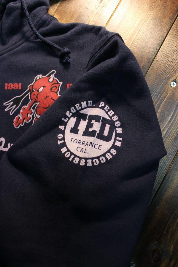 エフ商会 TEDMAN(テッドマン) TDSP-154 TEDCOMPANY ヘビーウェイト裏起毛パーカー ネイビー