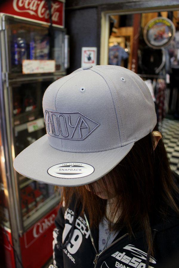 カドヤ(KADOYA)  KADOYA CLASSIC CAP カドヤクラシックキャップ グレー