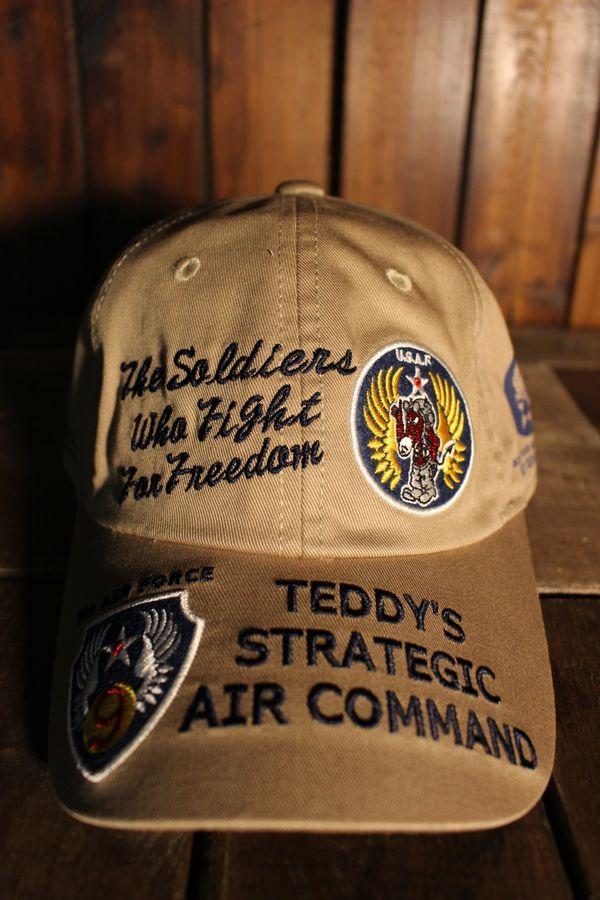 エフ商会 TEDMAN(テッドマン) TDC6-7000 AIR COMMAND コットンキャップ