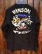 VANSON×LOONEY TUNES バンソン コラボ LTV-827 ジャガードヘンリーTee