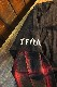 VANSON×CROWS×WORST 武装戦線 コラボ CRV-2102 天竺フェイクロンTee 重ね着風長袖Tシャツ デスラビット 忍者