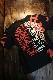 エフ商会 TEDMAN テッドマン TDSS-531 トライバル コットンTee Tシャツ ブラック
