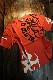 エフ商会 TEDMAN テッドマン TDSS-531 トライバル コットンTee Tシャツ レッド
