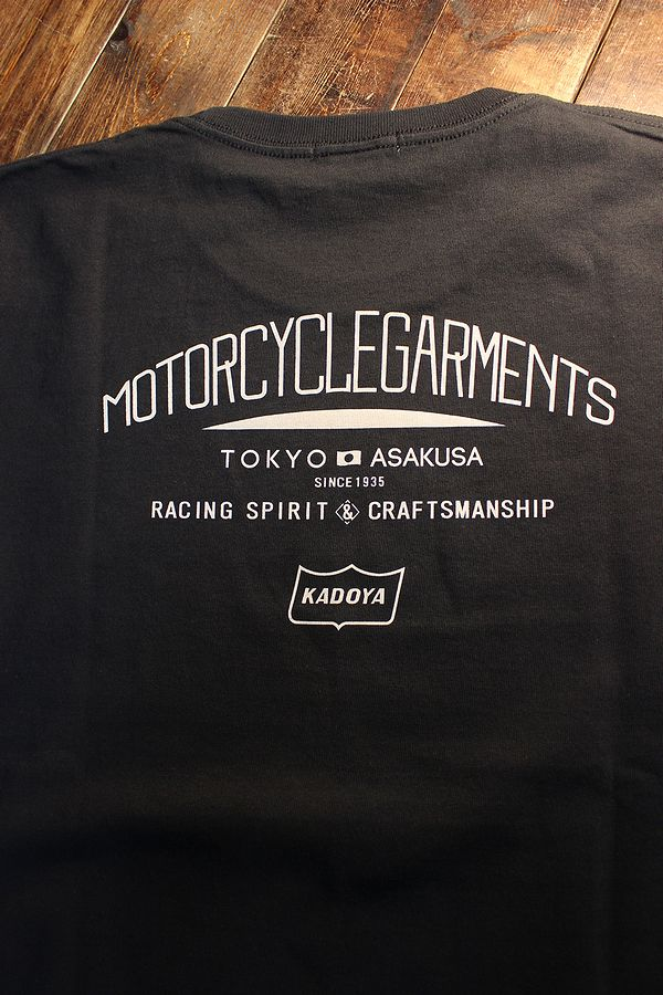 KADOYA(カドヤ) MONO RISE-T モノライズTシャツ ブラック