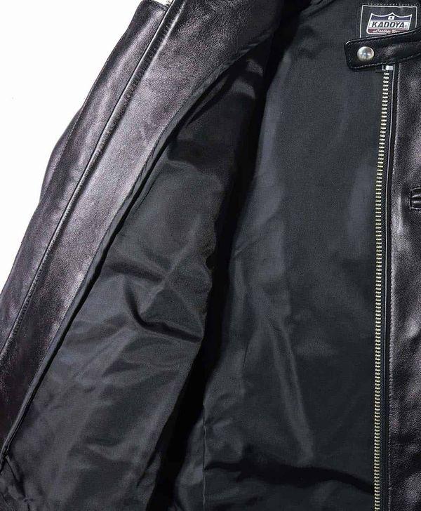 カドヤ(KADOYA)K'S LEATHER FPS-2-SFT レザーシングルジャケット ソフト