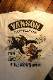 VANSON×Tom and Jerry トムとジェリーコラボ  TJV-2110 天竺6分Tee(フェイク袖) オフホワイト