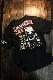 VANSON×CROWS×WORST 武装戦線 コラボ CRV-2008 天竺半袖Tee 刺繍Tシャツ デスラビット