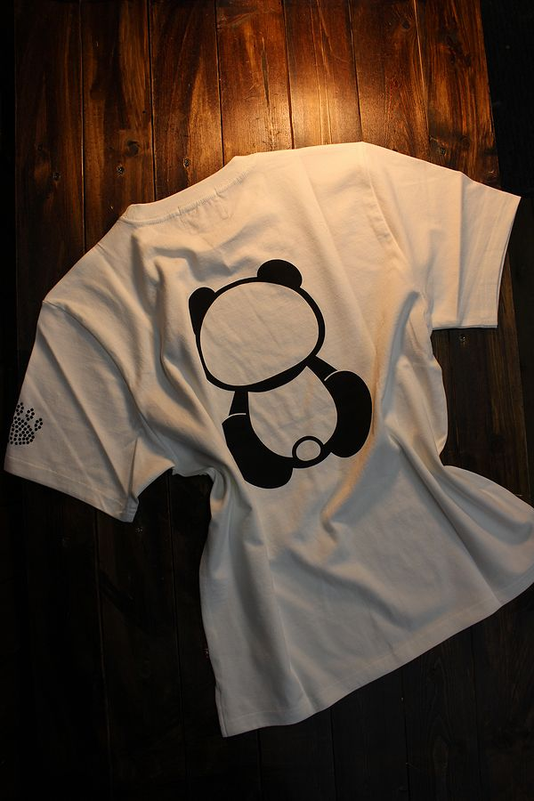 PANDIESTA JAPAN パンディエスタ 520864 ラインストーンTee ホワイト