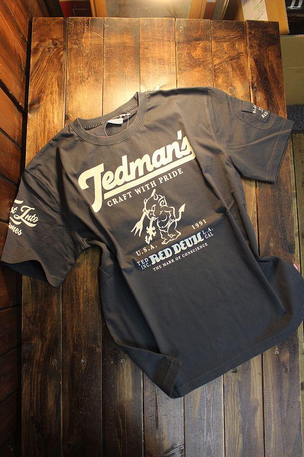 エフ商会 TEDMAN テッドマン TDSS-530 特大テッドマン コットンTee Tシャツ ネイビー