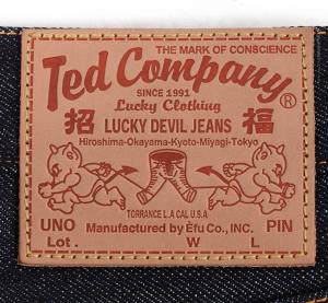 エフ商会 TEDMAN(テッドマン) DEVIL 6号 ジーンズ