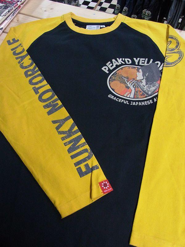 PEAK'D YELLOW ピークドイエロー  PYLT-195 ロングスリーブTシャツ