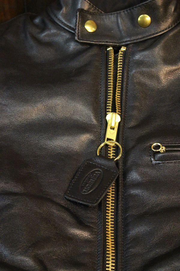 VANSON バンソン B レザージャケット シングルライダース 革ジャン ビッグサイズ 46,48