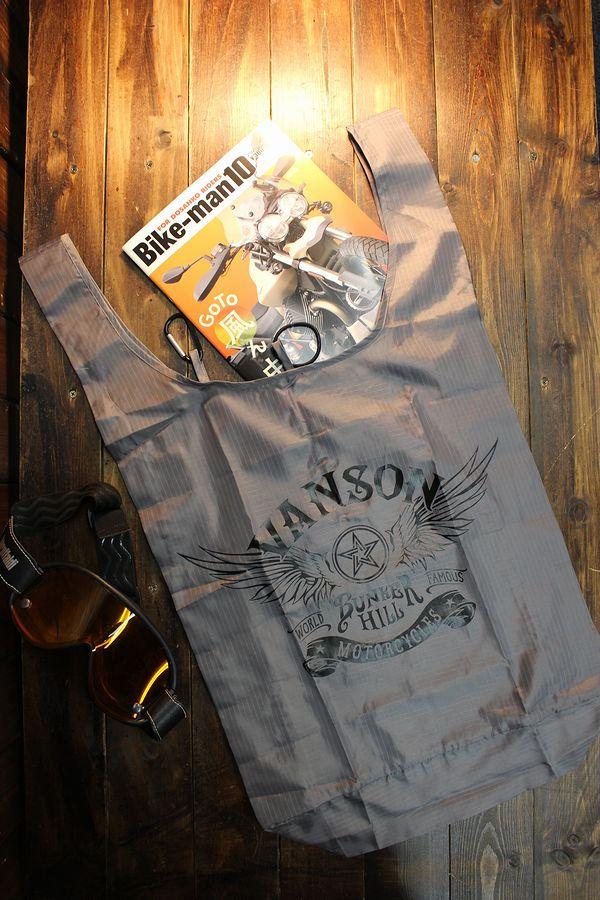 VANSON バンソン NVEB-2004 リップストップ生地エコバッグ ウイング