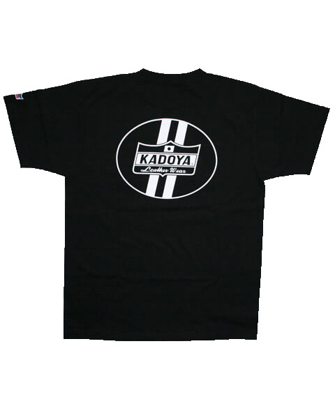 KADOYA(カドヤ) CROWN T-SHIRT クラウンTシャツ ブラック