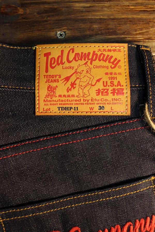エフ商会 TEDMAN(テッドマン) TDHP-11 13oz デニムハーフパンツ
