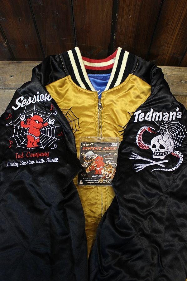 エフ商会 TEDMAN(テッドマン) テッドカンパニー TSK-042 スカジャン Sサイズ レディースとしてもOK
