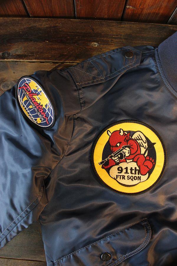 エフ商会 【TEDMAN】×【PHANTOM】 TL2-180 L-2 フライトジャケット ネイビー