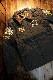 VANSON×Tom and Jerry トムとジェリーコラボ TJV-2033 リップストップナイロンキルティング 刺繍ベトジャン Vグリーン