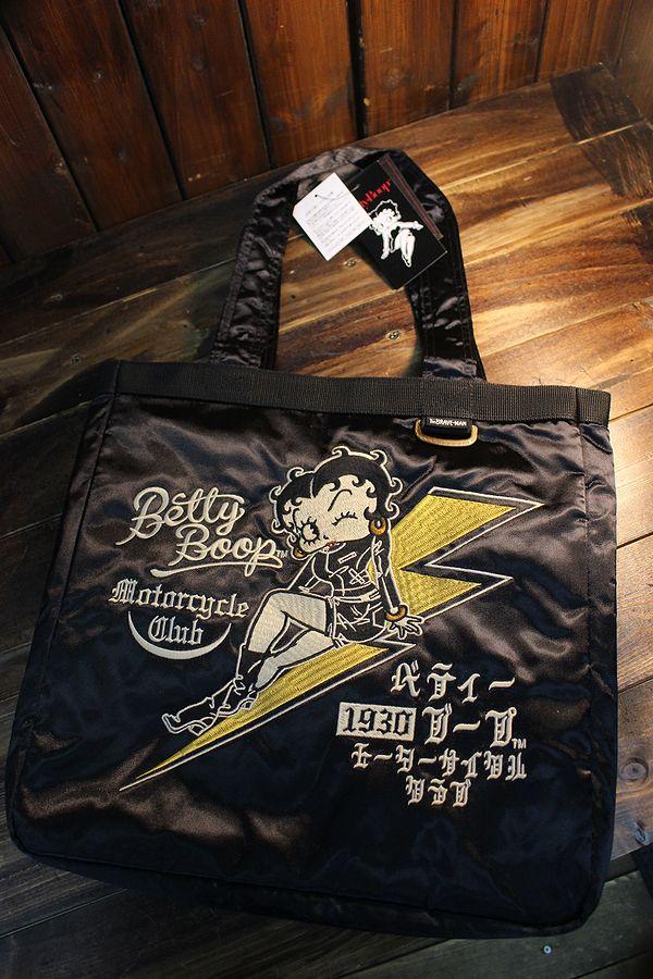 The BRAVE-MAN×BETTY BOOP ベティ BBB-2027 スカバッグ (BETTY BOOP 90th Anniversary)