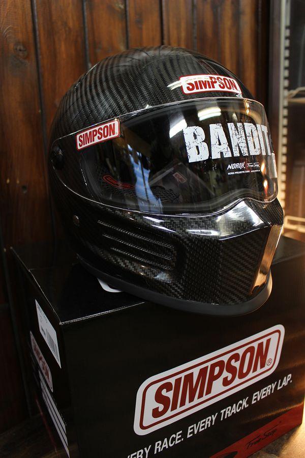 ☆シールドサービス☆シンプソン(SIMPSON) ヘルメット BANDIT PRO バンディト プロ カーボン