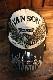 VANSON バンソン NVCP-2005 ツイルメッシュキャップ ブラック/ナチュラル