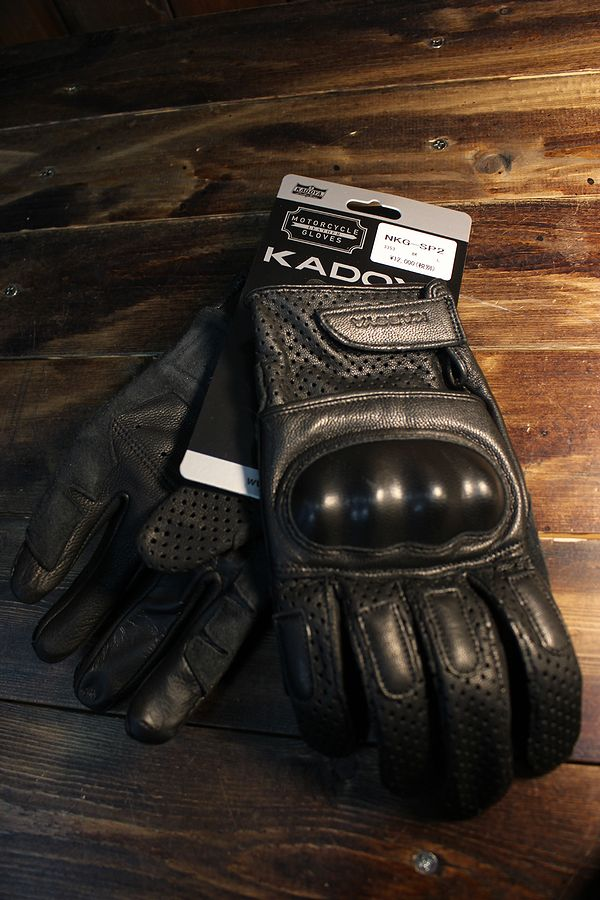 カドヤ(KADOYA) NKG-SP2 ナックルプロテクター付き パンチングレザーグローブ