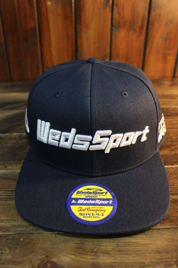 エフ商会 WEDSSPORT×TEDMAN×カミナリのトリプルコラボキャップ WEDSCAP-900 WEDSSPORTSコラボストレートCAP