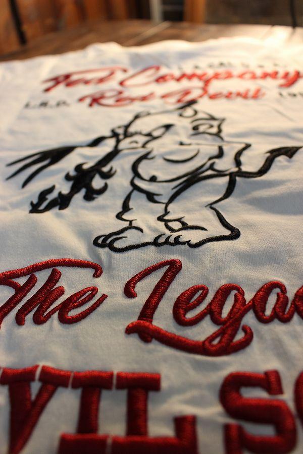 エフ商会 TEDMAN テッドマン TDSS-534 刺繍Tシャツ コットンTee オフホワイト