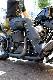 カドヤ(KADOYA) CHAPS-B  レザー 革チャップスB ブーツカットシルエット シルバーファスナー バイク