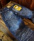 KOJIMA GENES 児島ジーンズ RNB-1267 15oz セルビッチストレートジーンズ プレミアムユーズドウェル