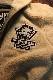 The BRAVE-MAN×BETTY BOOP ザ,ブレイブマン×ベティブープ BBB-2032 リバーシブルモッズコート カーキ