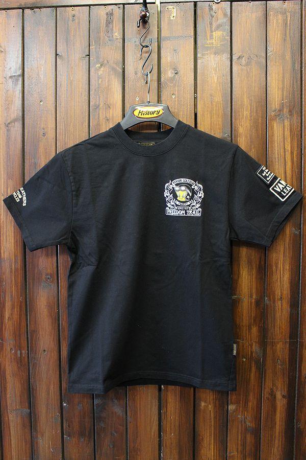 VANSON×Looney Tunes バンソン×ルニーテューンズ  ltv-719 半袖Tシャツ  ブラック