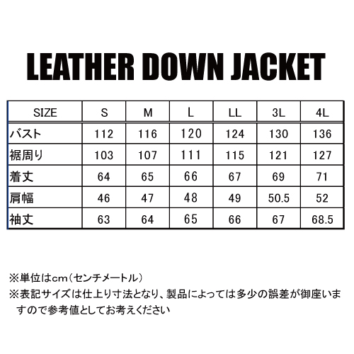 KADOYA(カドヤ) K'S LEATHER  LEATHER DOWN JACKET レザーダウンジャケット