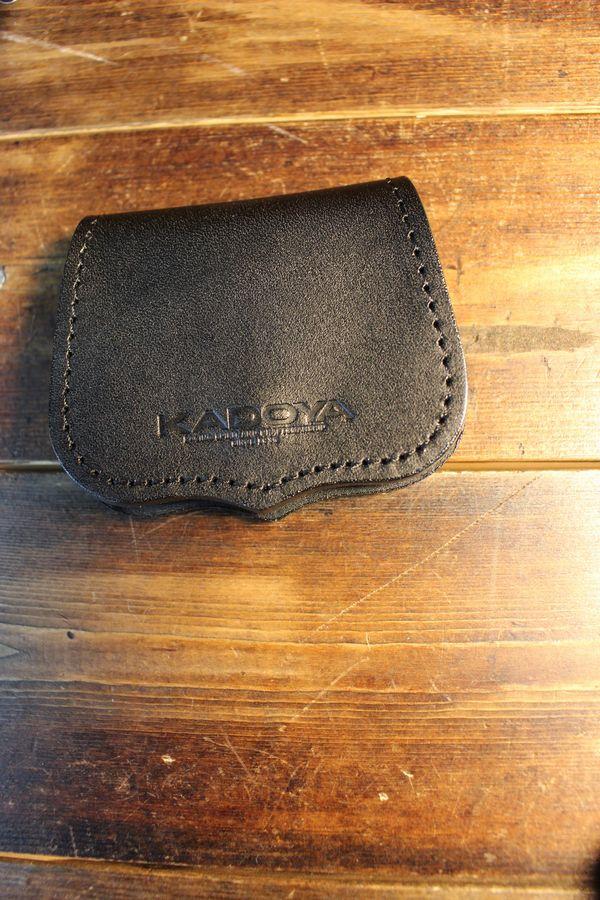 カドヤ(KADOYA)  CROWN COIN CASE  クラウンコインケース