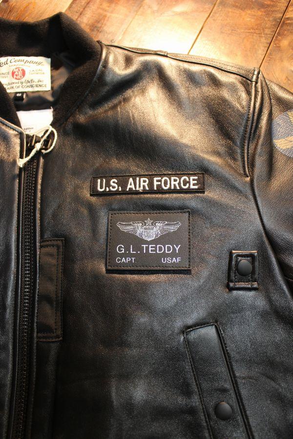 TEDCOMPANY エフ商会 TEDMANテッドマン 150着限定 TMAL-540 レザーMA-1 シリアルナンバー付き