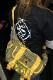 PANDIESTA JAPAN 熊猫謹製 パンディエスタ 551150 ミリタリーショルダーバッグ ブラック