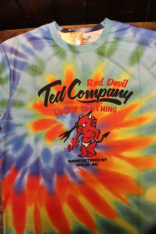 エフ商会 TEDMAN テッドマン TDRYT-1000 タイダイドライTシャツ カラフル