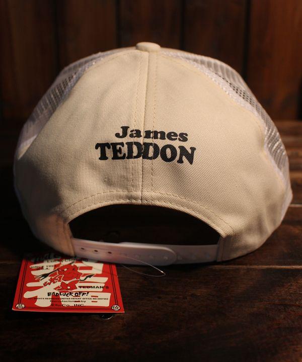 エフ商会 TEDMAN(テッドマン) TDC-7500 TEDDON フィッシング メッシュキャップ オフホワイト