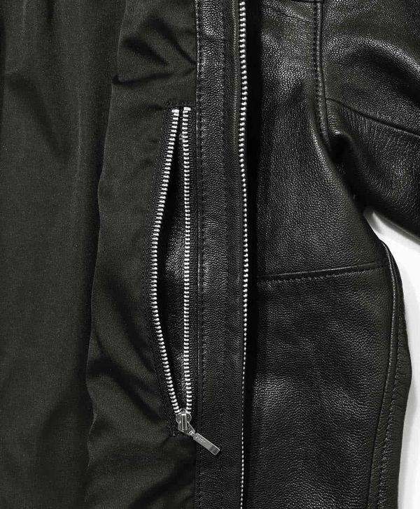 カドヤ(KADOYA) ALTER KEIS(アルタケイス) SHIRTS RIDERS 襟付きシングルレザージャケット