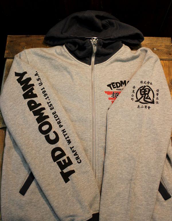エフ商会 TEDMAN(テッドマン) TDSP-149 招福zip UP スウェットパーカ
