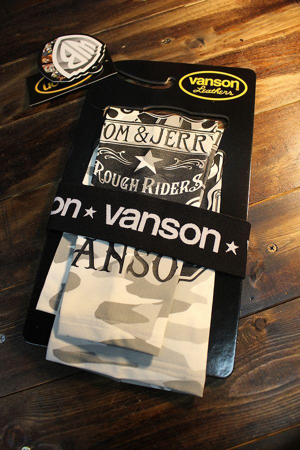 VANSON×Tom and Jerry トムとジェリーコラボ TJV-2015 ドライアームシェードロング