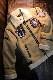INDIAN MOTOCYCLE×BETTY BOOP インディアン×ベティ コラボ BBI-936 ボンディング B-6 FLIGHT ジャケット キャメルブラウン