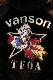 VANSON×CROWS×WORST 武装戦線 CRV-2033 リバーシブルボアパーカー ブラック
