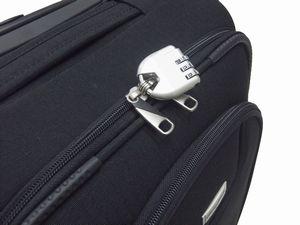 【HFSCBZ05】44cmソフトキャリーケース & ビジネストラベルバッグ セット【機内持ち込み対応】【4輪キャスター】【お買得セット】【送料無料】