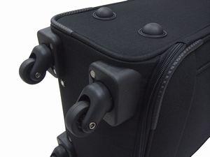 【HFSCBZ06】50cmソフトキャリーケース & マルチショルダーバッグ セット【4輪キャスター】【お買得セット】【送料無料】