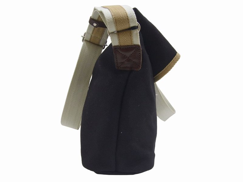 【HFSD0009】《帆布工房 LINE》 帆布 ショルダーバッグ 口折れタイプ [#3X34] 《斜めがけバッグ》【男女兼用】【カジュアル】