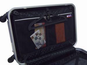 【HFSCSD03】64cmスーツケース & マルチショルダーバッグ セット《70L》【超軽量】【TSAロック】【4輪キャスター】【お買得セット】【送料無料】