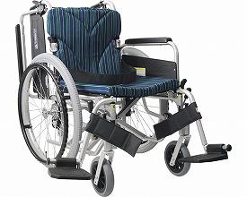 アルミ自走車いす 簡易モジュール 中床タイプ / 座幅38・40・42cm 9色より選べます