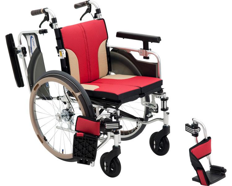 アルミ自走車いす スキット SKT-1000 / 3色より選べます。