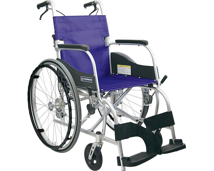 アルミ自走用車いす ふわりす KF22-40SB / 座幅40cm 4色より選べます